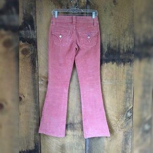 Hudson Corduroy Bootcut Jeans